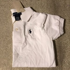🔥NWT🔥 Ralph Lauren White Polo